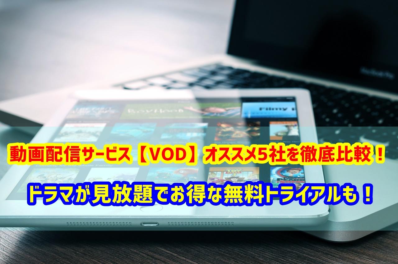 動画配信サービス VOD オススメ 比較