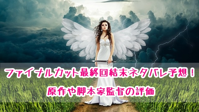 finalcut 最終回 結末 ネタバレ